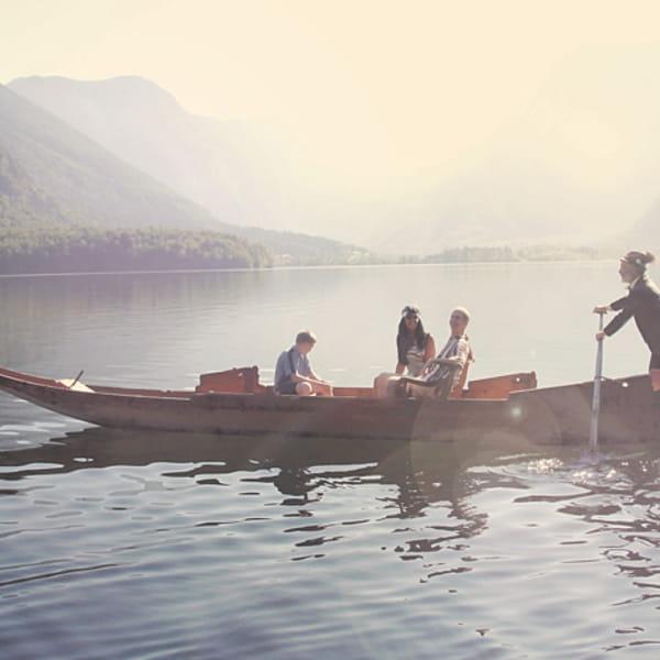 Bootsfahrt am Hallstättersee