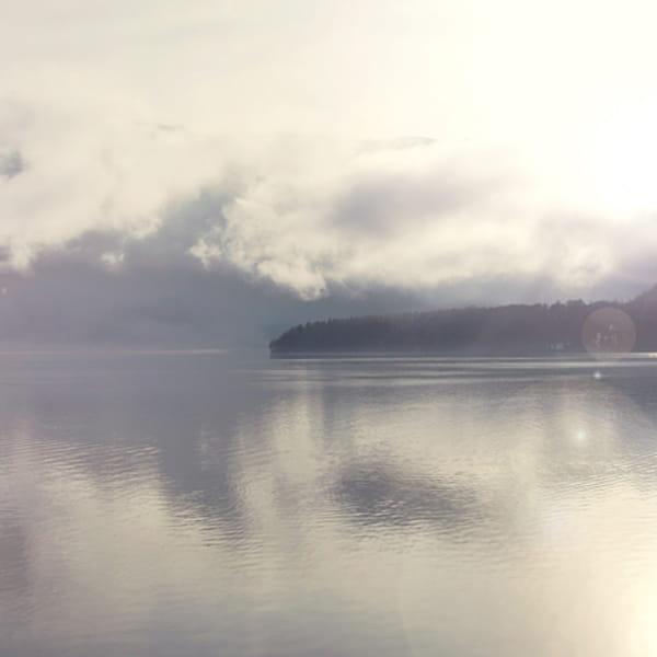 Blick auf Hallsättersee