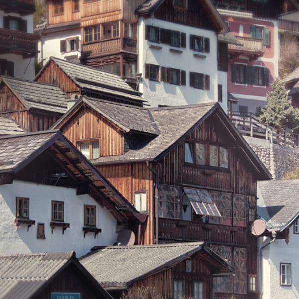 Hallstatt - Häuser